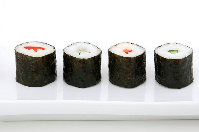 Los condimentos del sushi-PIXABAY
